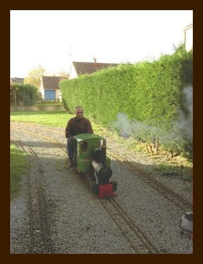 locomotive à la vapeur